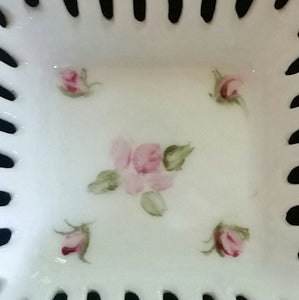 Hand Painted Porcelain Trinket Tray