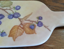 Load image into Gallery viewer, Hand Painted Porcelain Bottle Shaped  Cheese Board