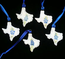 Load image into Gallery viewer, Miniature Texas Shaped Ornament