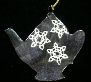 Hand Made Porcelain Tea Pot Ornaments