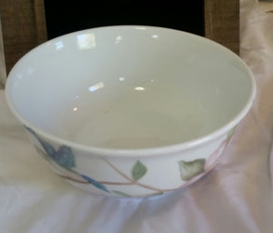 Hummingbirds And Wild Roses Serving Bowl