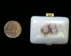 Miniature Trinket Boxes with Roses