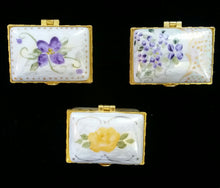 Load image into Gallery viewer, Hand Painted Porcelain Trinket Box