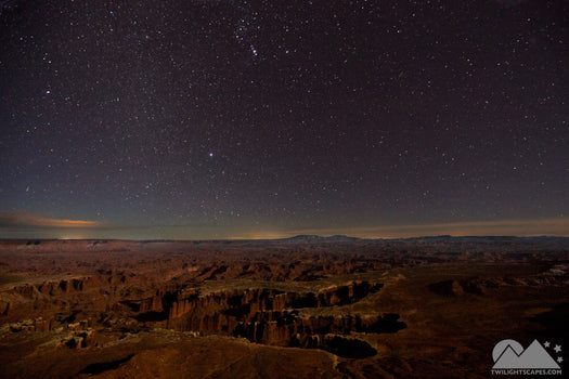 Orion Over The Canyonlands
