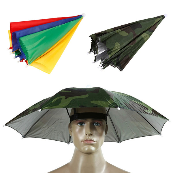 Umbrella Hat for Camping,Hiking and FIshing