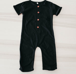 the black Liam romper