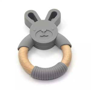 Silicone Bunny Teether