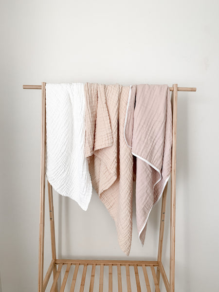 The Fawn Gauze Blanket