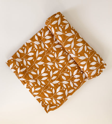 Leaf Pattern Swaddle