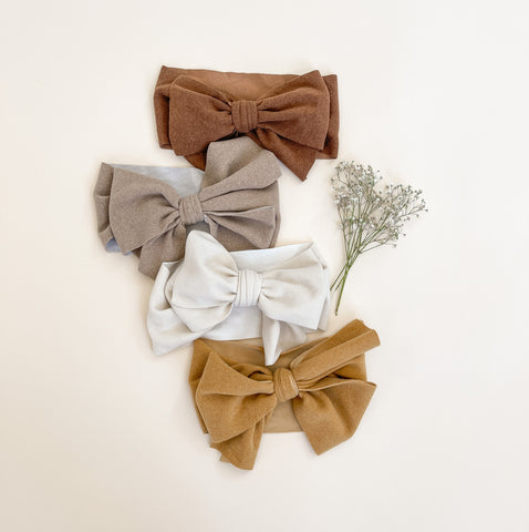 Olivia Bow Headbands