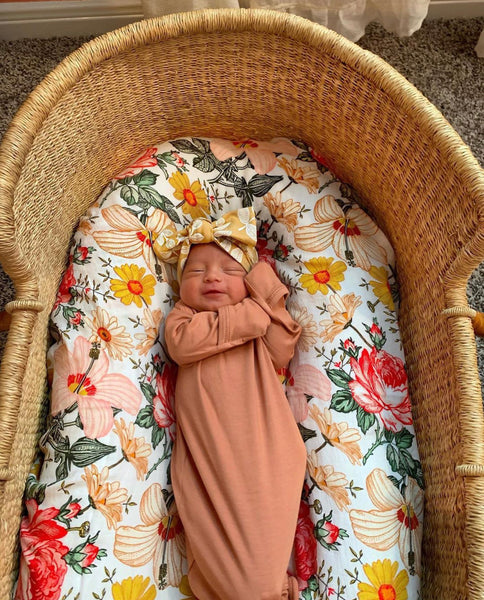 Bamboo Swaddle – Garden Floral