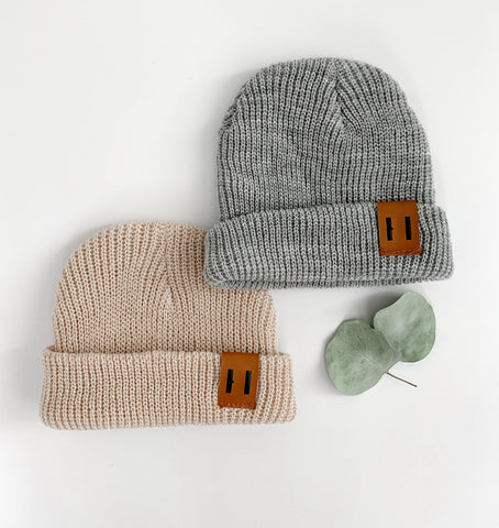 Neutral Knit Beanie
