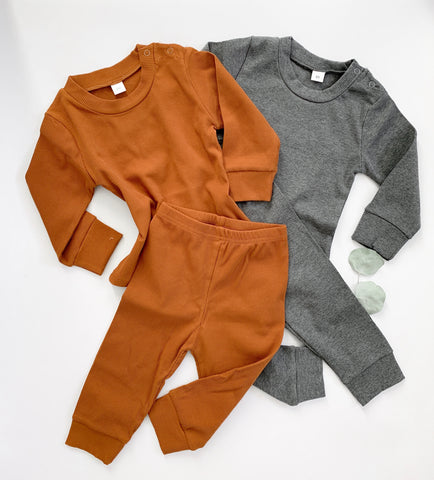 The ribbed chestnut jammies
