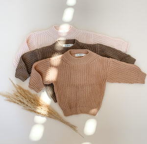 Oversized Chunky Knit Sweaters