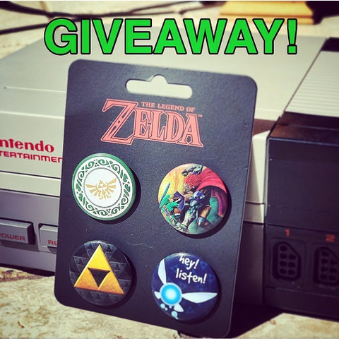 Nintendo Legend of Zelda Giveaway on Instagram