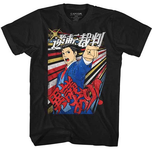 MEN'S ACE ATTORNEY IGIARI LIGHTWEIGHT TEE - Blue Culture Tees