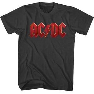 MEN'S ACDC DISTRESS RED LIGHTWEIGHT TEE - Blue Culture Tees