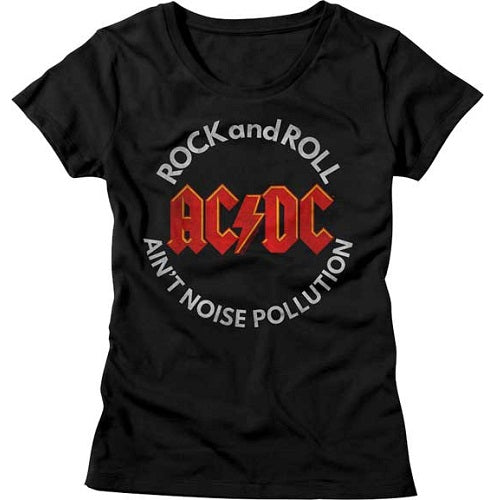 WOMEN'S ACDC NOISE POLLUTION TEE
