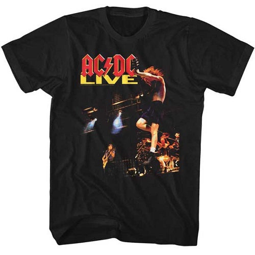 MEN'S ACDC ACDC LIVE LIGHTWEIGHT TEE