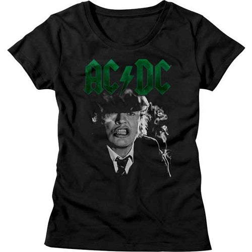 WOMEN'S ACDC ANGUS GROWL TEE