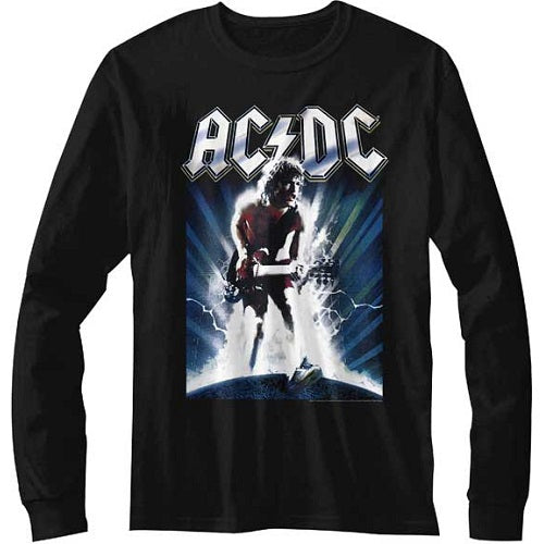 MEN'S ACDC ACDCACDC LONG SLEEVE TEE