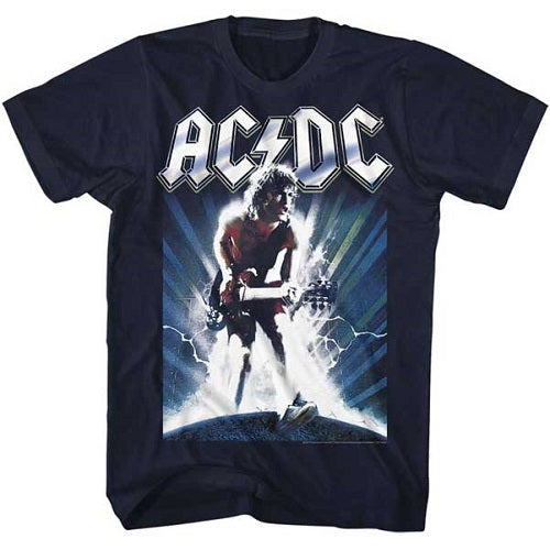 MEN'S ACDC ACDCACDC LIGHTWEIGHT TEE - Blue Culture Tees