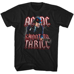 MEN'S ACDC SHOOT TO THRILL LIGHTWEIGHT TEE - Blue Culture Tees