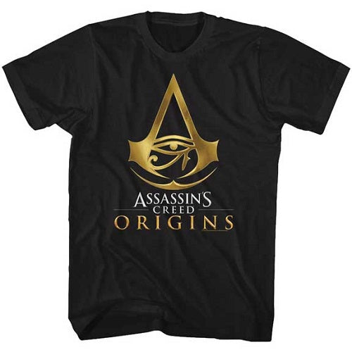 MEN'S ASSASSINS CREED ORIGINS LOGO TEE - Blue Culture Tees