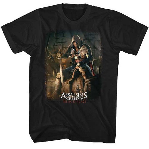 MEN'S ASSASSINS CREED BARREL O FUN TEE - Blue Culture Tees