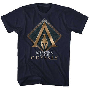 MEN'S ASSASSINS CREED AC ODYSSEY TEE - Blue Culture Tees