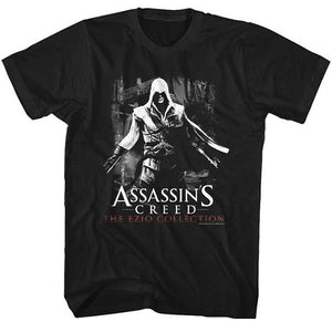 MEN'S ASSASSINS CREED EZIO A VENEZIA LIGHTWEIGHT TEE - Blue Culture Tees
