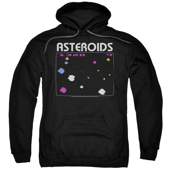 MEN'S ATARI ASTEROIDS SCREEN PULLOVER HOODIE