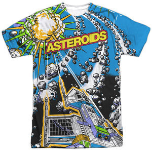 Men's Atari Asteroids All Over Sublimated Tee