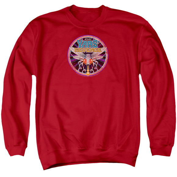 MEN'S ATARI YARS REVENGE PATCH CREWNECK SWEATSHIRT