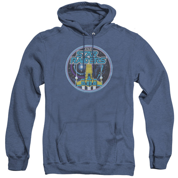 MEN'S ATARI BADGE HEATHER PULLOVER HOODIE