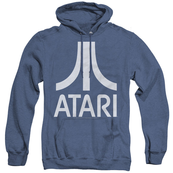 MEN'S ATARI ATARI LOGO HEATHER PULLOVER HOODIE