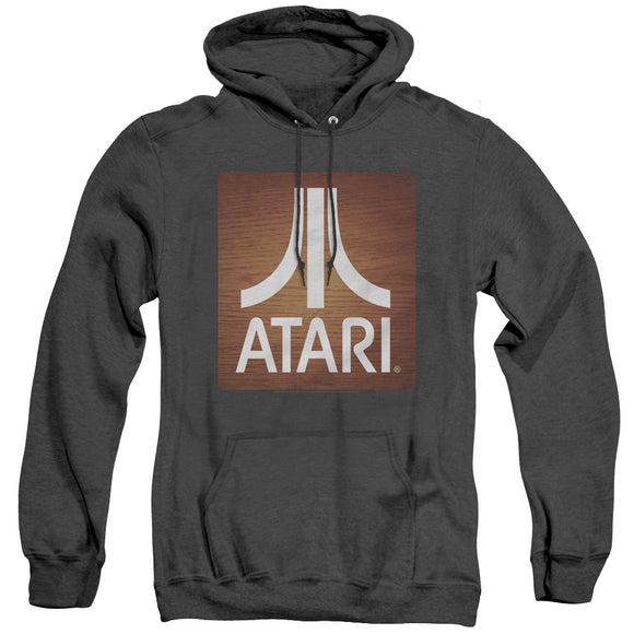 MEN'S ATARI CLASSIC WOOD SQUARE HEATHER PULLOVER HOODIE