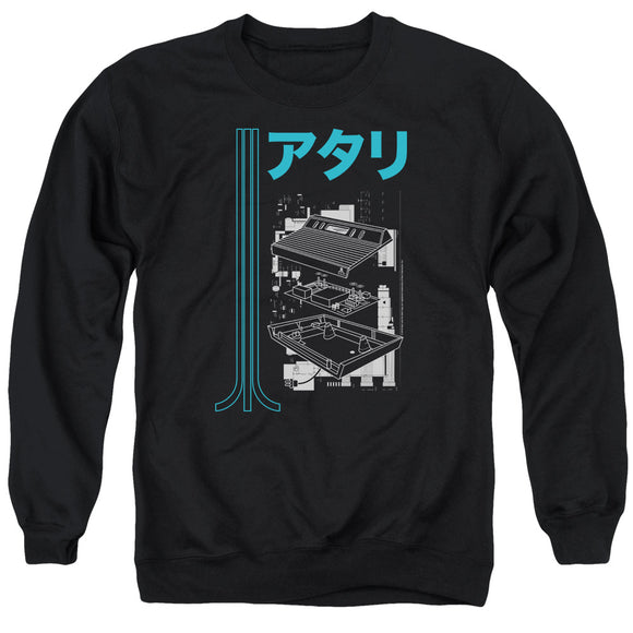 MEN'S ATARI SCHEMATIC CREWNECK SWEATSHIRT