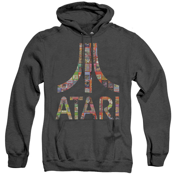 MEN'S ATARI BOX ART HEATHER PULLOVER HOODIE