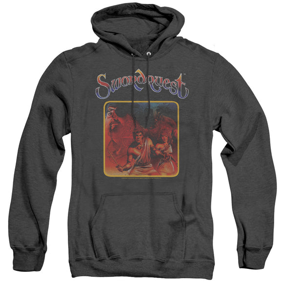 MEN'S ATARI SWORDQUEST HEATHER PULLOVER HOODIE