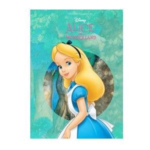 DISNEY ALICE IN WONDERLAND DIECUT CLASSICS BOOK - Blue Culture Tees