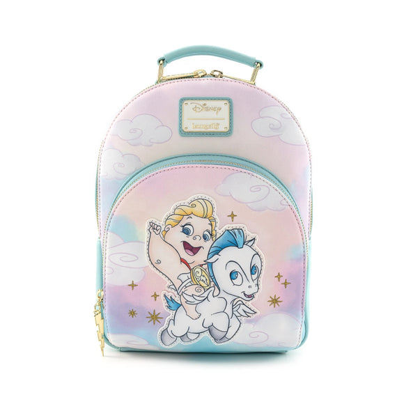 LOUNGEFLY DISNEY HERCULES BABY HERC AND PEGASUS MINI BACKPACK