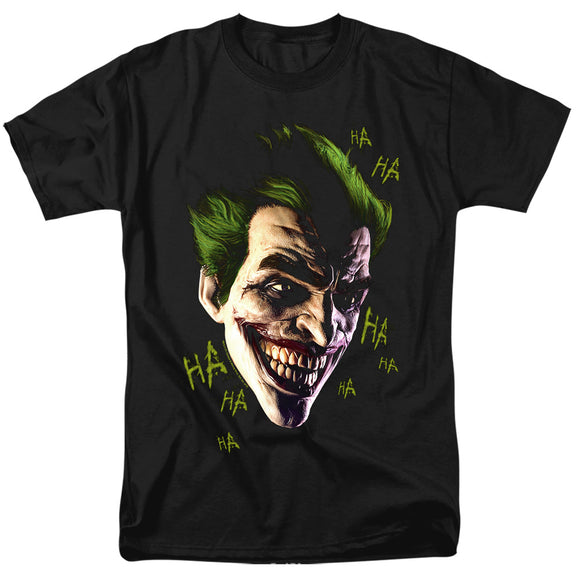 MEN'S BATMAN ARKHAM ORIGINS JOKER GRIM TEE