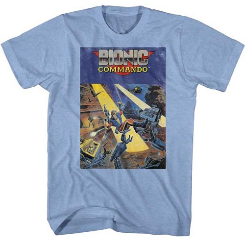 MEN'S BIONIC COMMANDO COVER LIGHTWEIGHT TEE - Blue Culture Tees