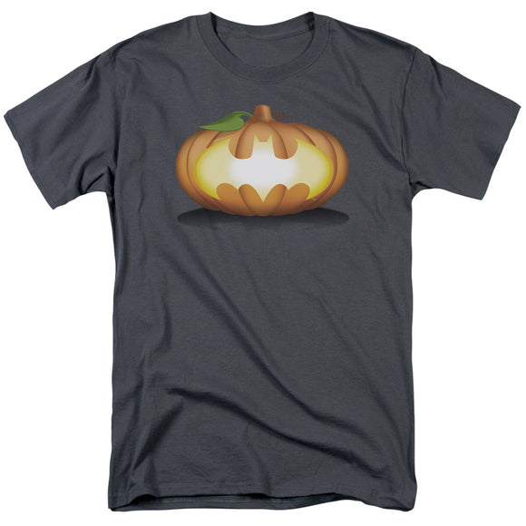 MEN'S BATMAN BAT PUMPKIN LOGO TEE