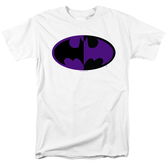 MEN'S BATMAN SPLIT SYMBOL TEE