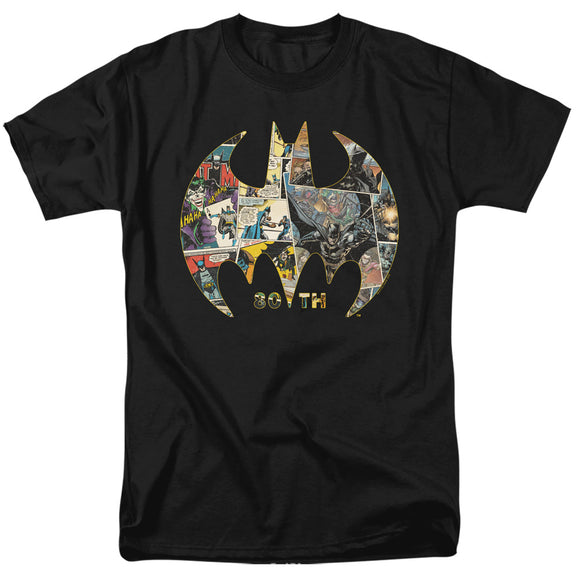 MEN'S BATMAN 80TH SHIELD TEE