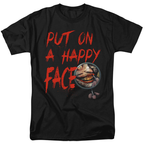 MEN'S BATMAN JOKER HAPPY FACE TEE