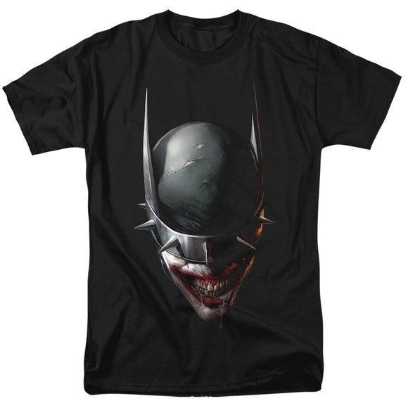 MEN'S BATMAN JOKER BATMAN WHO LAUGHS HEAD TEE