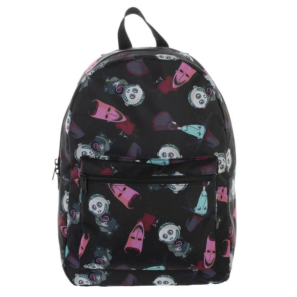 Disney The Nightmare Before Christmas Lock, Shock, and Barrel AOP Nylon Backpack